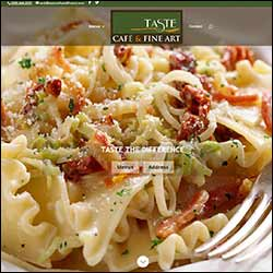 Restaurant Website Designed by Ligon Media