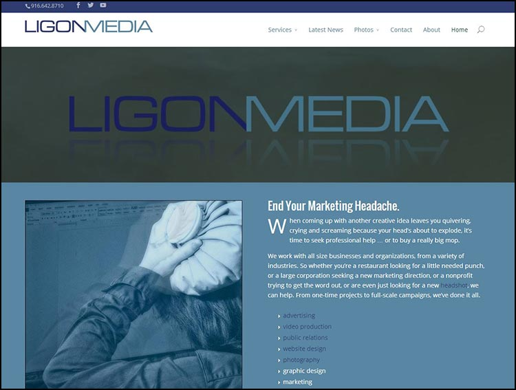 "LIGON MEDIA GETS FACELIFT … NEW NAME ""JOAN RIVERS CREATIVE"" (not really)"